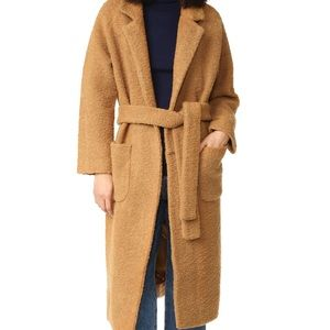 Ganni 'Fenn' wrap coat